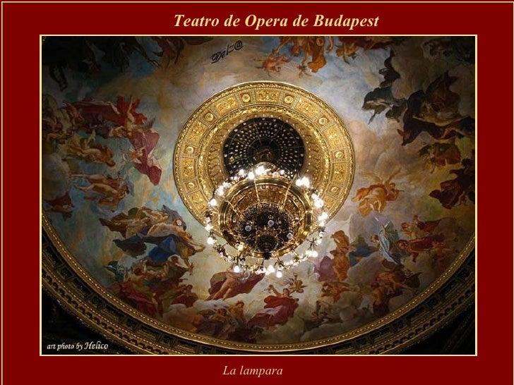 Teatro de Opera de Budapest  La lampara
