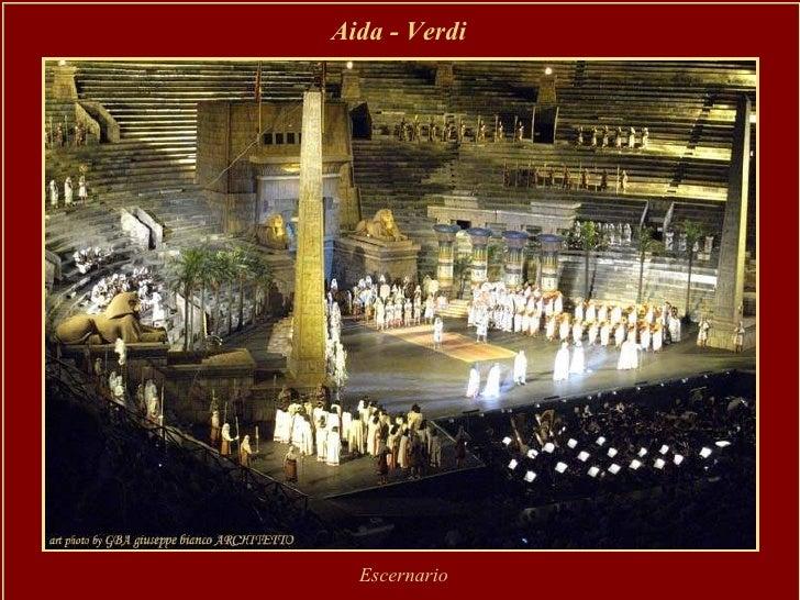 Aida - Verdi   Escernario