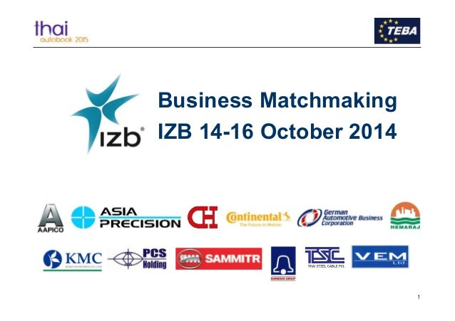 Business matchmaking 2014