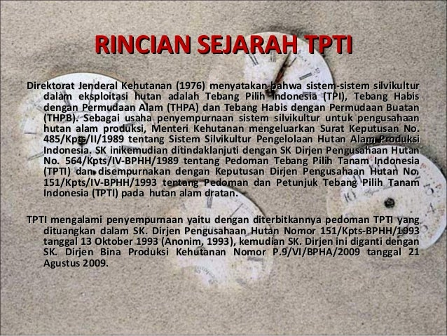 Tebang Pilih Tanam Indonesia (TPTI)