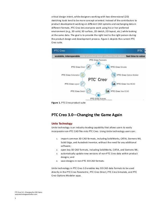 Tec spotlight report ptc creo Slide 3
