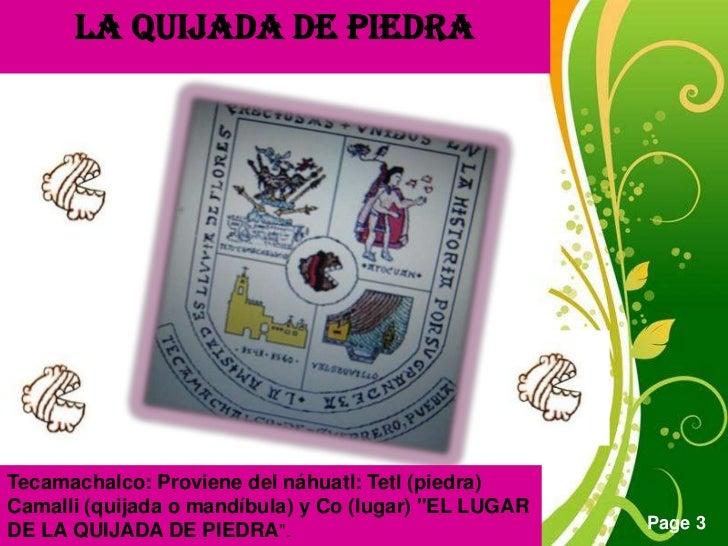 Tecamachalco Slide 3