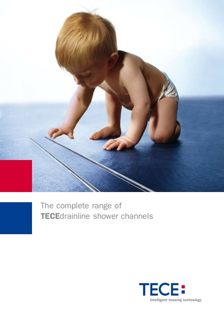 The complete range ofTECEdrainline shower channels