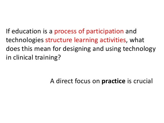 """""""The use of a practice lens to study technology use in organizations focuses attention on what people actually do with par..."""