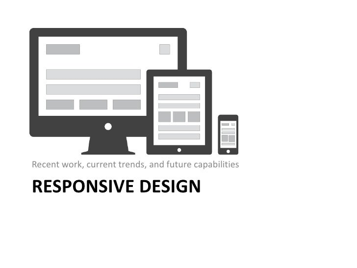Recent work, current trends, and future capabilitiesRESPONSIVE DESIGN