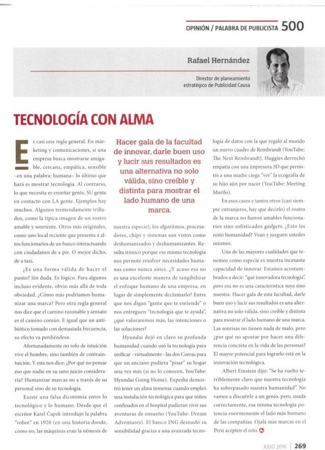 Tecnología Con Alma