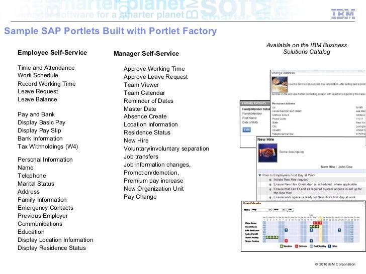 Factory Calendar Sales Organization Sap : Integrating sap with web sphere portal