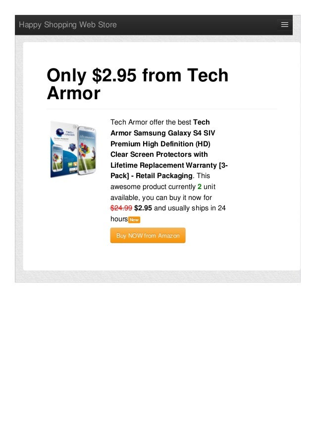Tech armor-offer-the-best-samsung-galaxy-s4-siv-premium