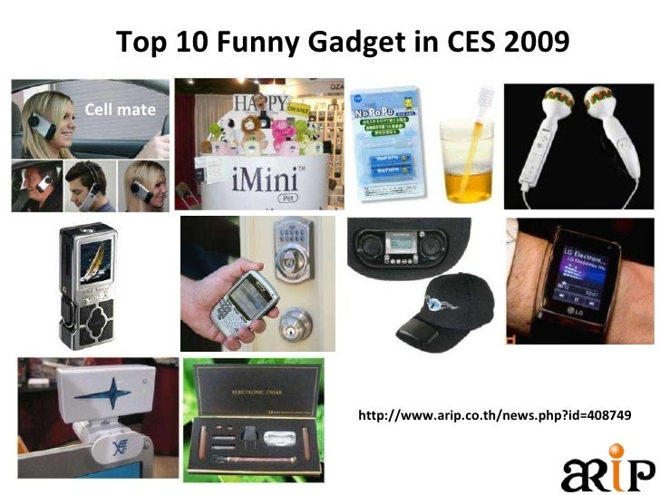 Top 10 Funny Gadget in CES 2009 http://www.arip.co.th/news.php?id=408749 Cell mate