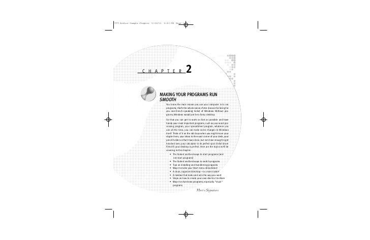 TTT Author Sample Chapter 5/22/01 1:43 PM Page 1                        C H A P T E R                       2             ...
