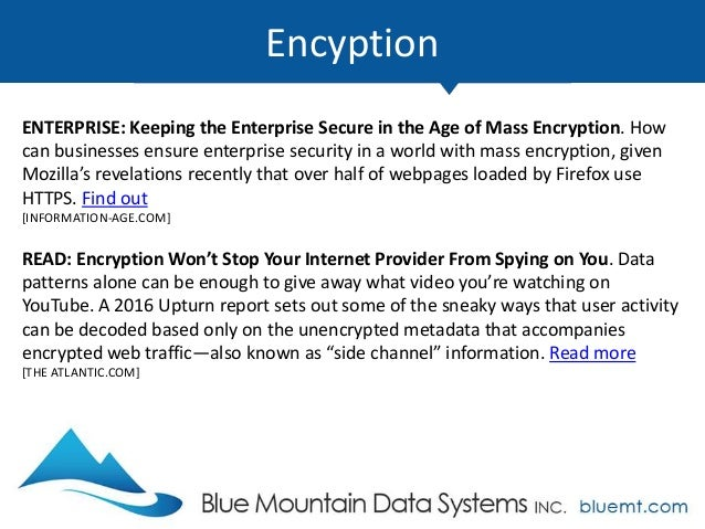 Tech update summary from blue mountain data systems april 2017 databases 11 malvernweather Gallery