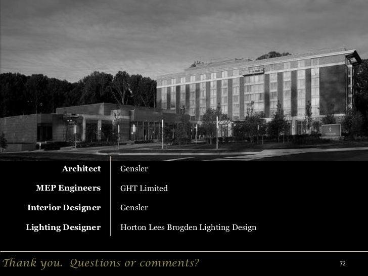Technical report schematic lighting design presentation