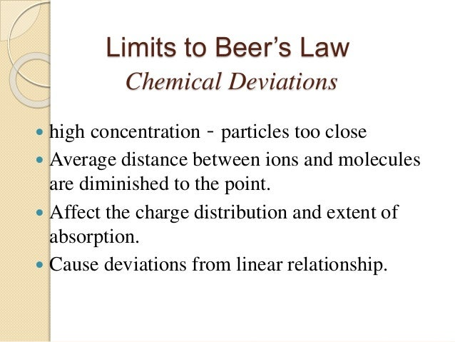 beers law chemistry