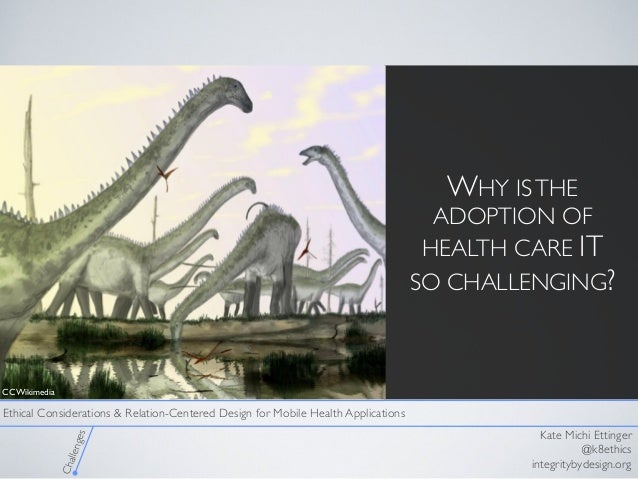 Ethical Considerations and Relation Centered Design for mHealth Applications  Slide 2