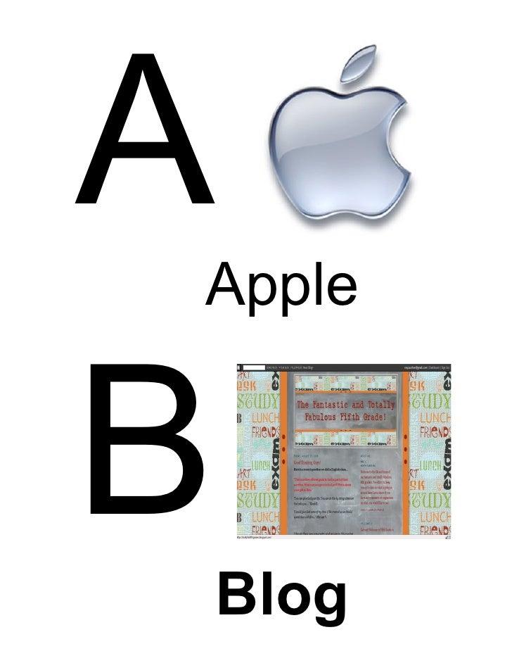 A Apple   B   Blog