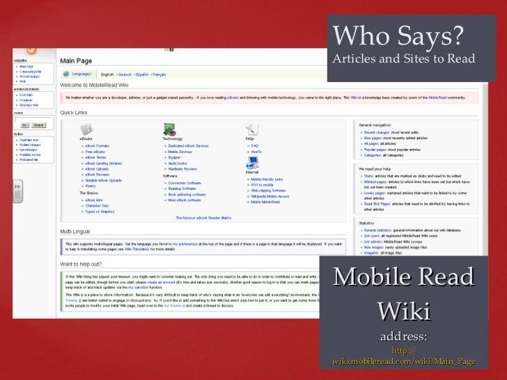 Techapalooza 2011 morriston ereaders