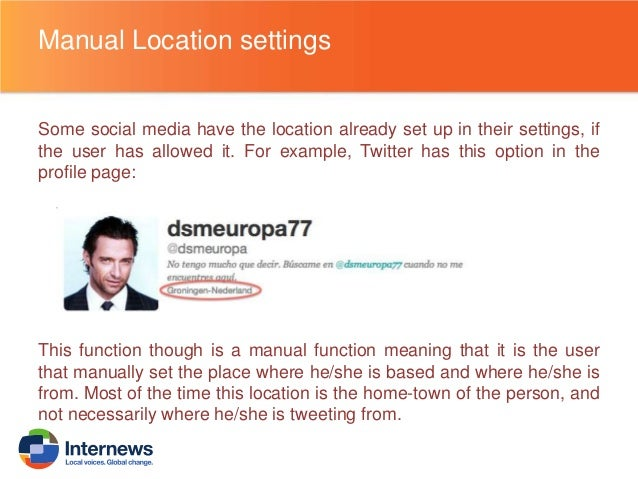 The same is valid for Facebook location settings, that you can find in the About page of the person: