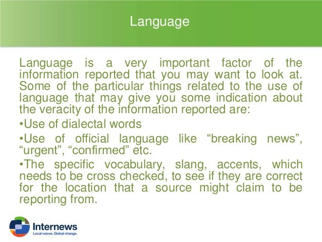 Is the language used in the report neutral or the person is using lots of adjective and qualitative judgments on the infor...