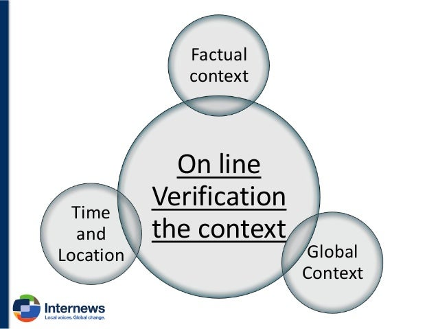 Time and Location We have already seen before how time and location can help us identify the veracity of an information, b...