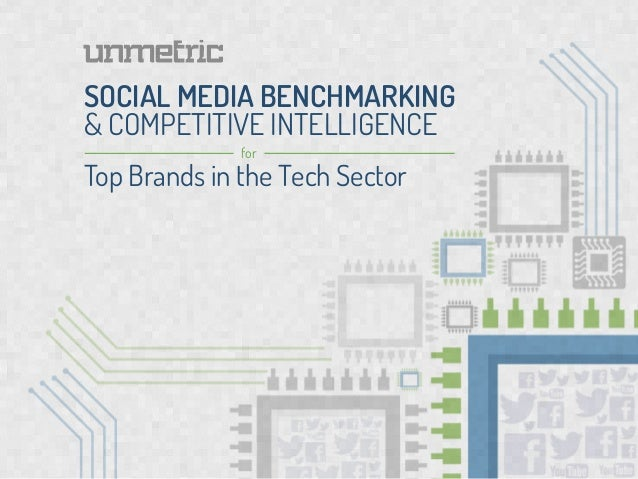 SOCIAL MEDIA BENCHMARKING& COMPETITIVE INTELLIGENCE              forTop Brands in the Tech Sector