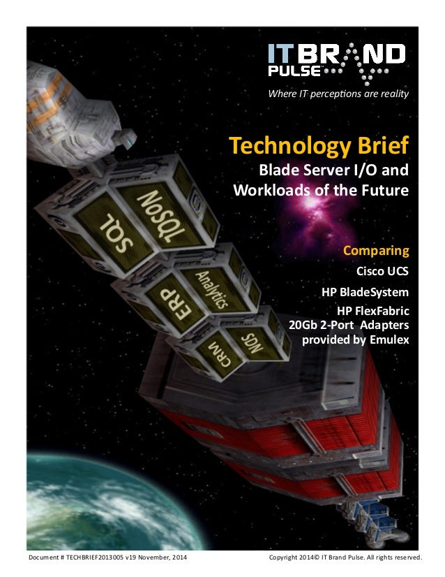Document # TECHBRIEF2013005 v19 November, 2014 Copyright 2014© IT Brand Pulse. All rights reserved.  Where IT perceptions ...