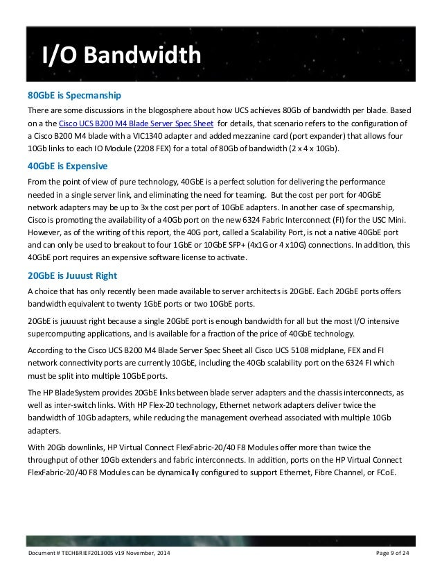 cisco b200 m4 spec sheet
