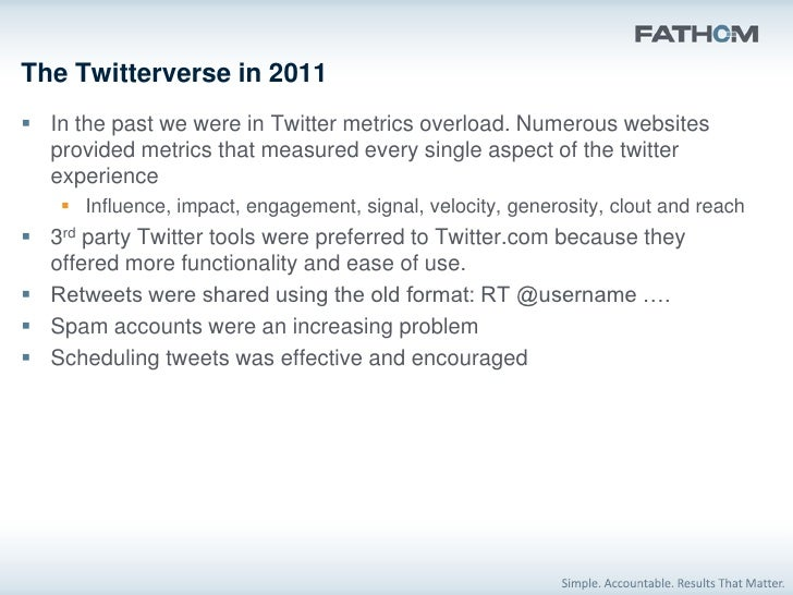 Twitter Today Twitter launched a major update to their website at the end of 2011     The new design encouraged users to...