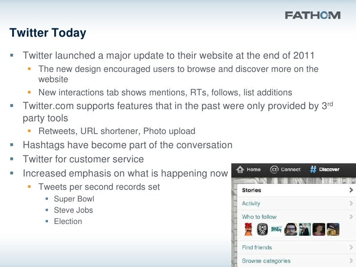 Why the change?   People are becoming more familiar with Twitter language   Twitter had to catch up to keep users on the...