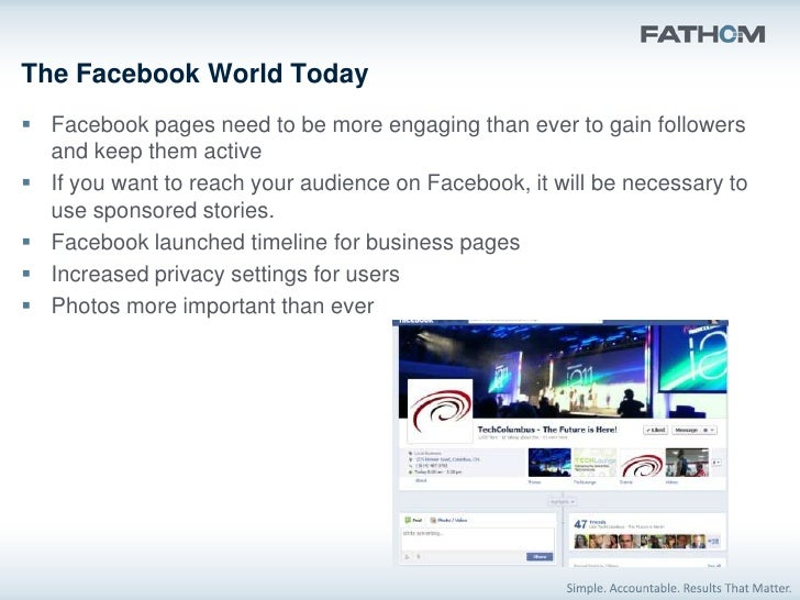 Why the Change? As in the past, Facebook page design is following the look of personal  profiles.     Timeline allows pe...