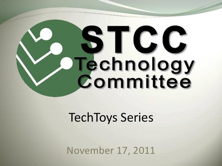 TechToys SeriesNovember 17, 2011