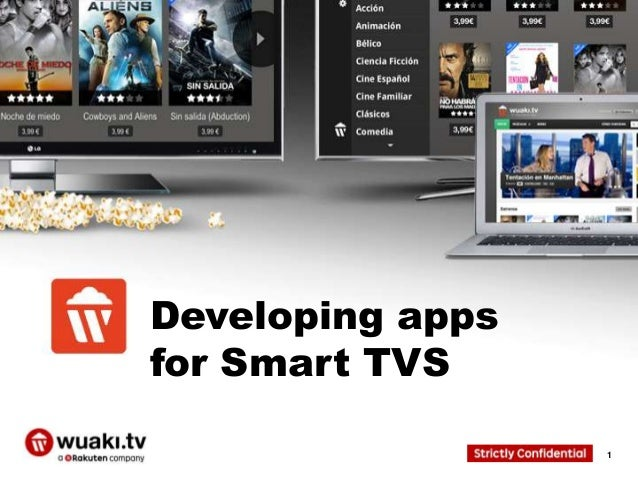 Developing apps for Smart TVS 1