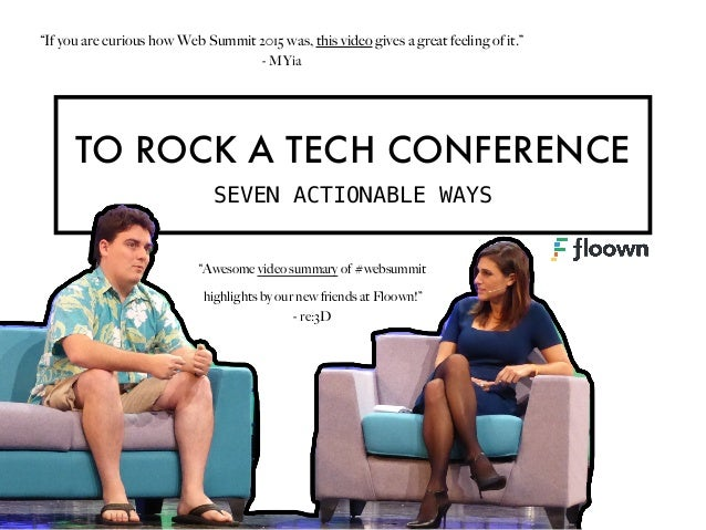 7 ways to ROCK a TECH CONFERENCE Slide 2