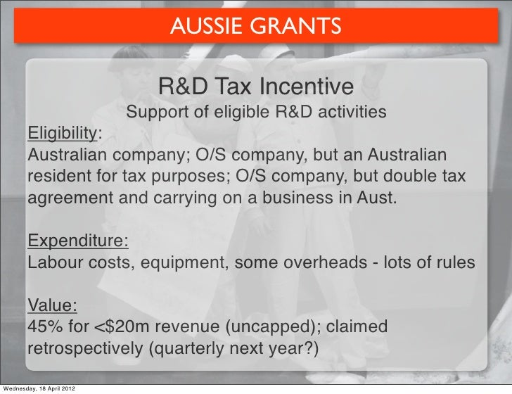 commercialisation australia eligible expenditure guidelines