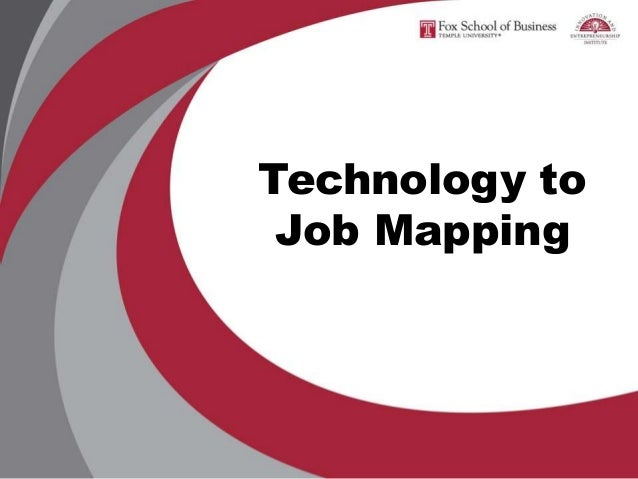 Technology to Job Mapping