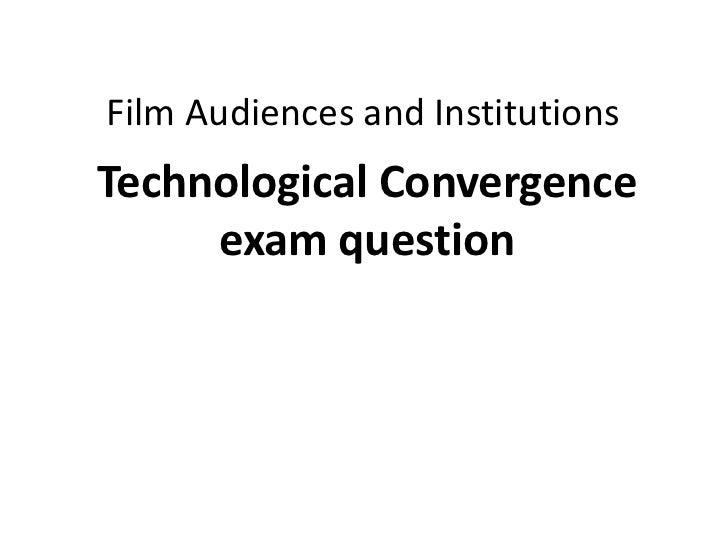 Tech convergence