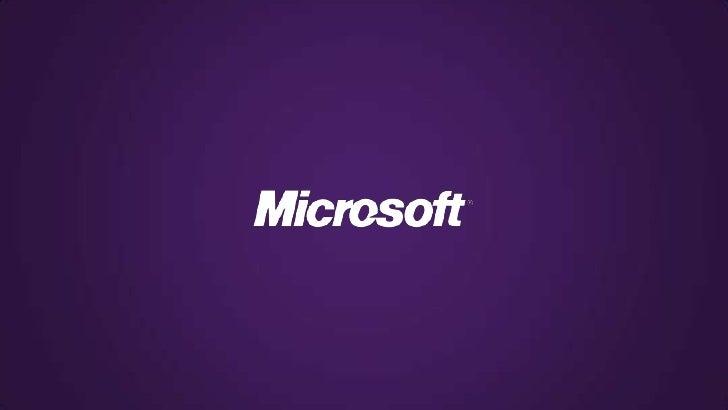 L'Accélérateur Windows PhoneProgramme d'accompagnement de Microsoft France pour développeursLes coachs – des développeurs ...
