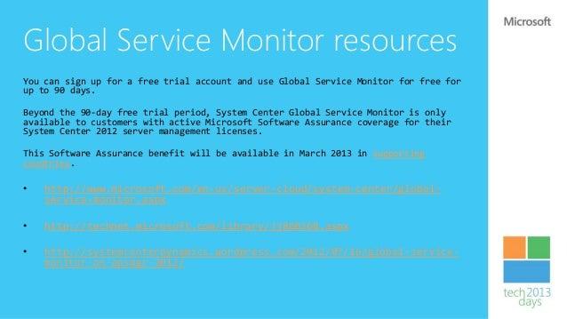 Cloud Services monitoring   On Premises          You Manage                     Infrastructure     Platform        Softwar...