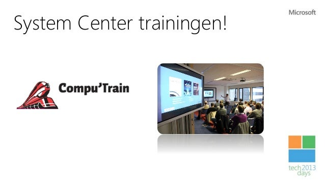 Techdays 2013 managing your hybrid cloud datacenter with scom 2012 and what's new in SP1