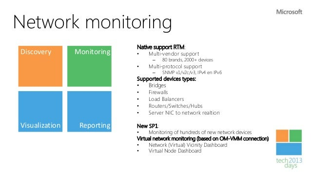 Storage Monitoring Capabilities•   Based on OM-VMM connection•   Alerts for thin provisioning    threshold events•   Dashb...