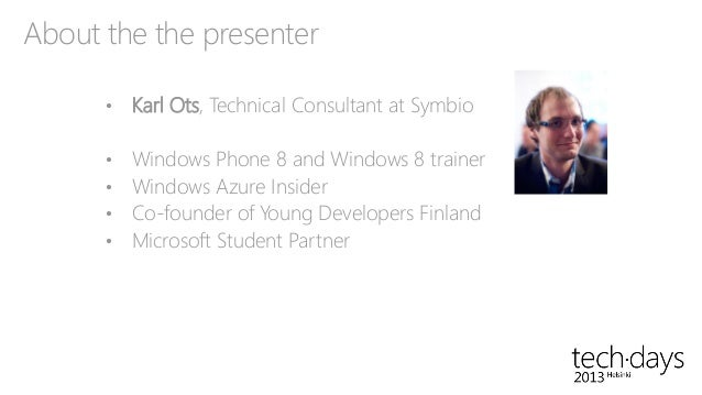 Building modern media services with Windows Azure by Karl