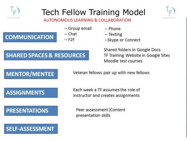 Tech Fellow Training Model
