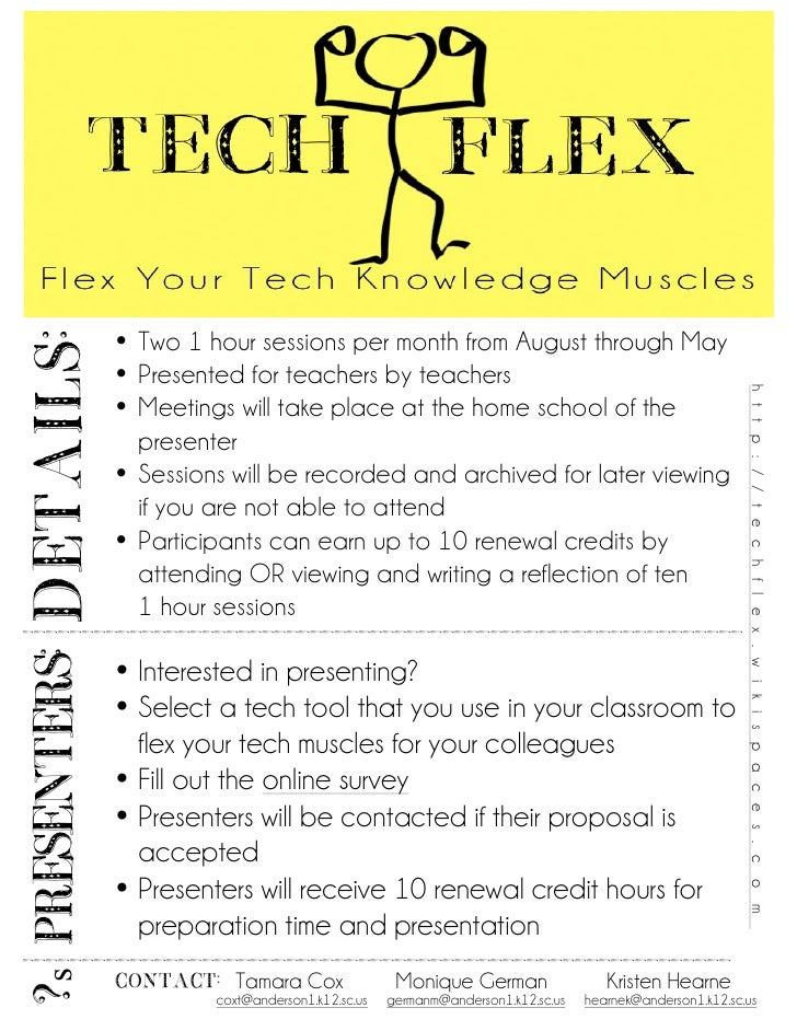 • Two 1 hour sessions per month from August through May DETAILS:                  • Presented for teachers by teachers    ...