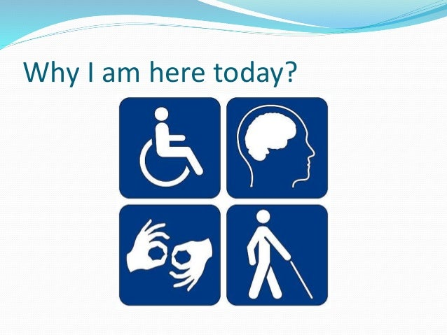 Technology For Differently Abled Persons