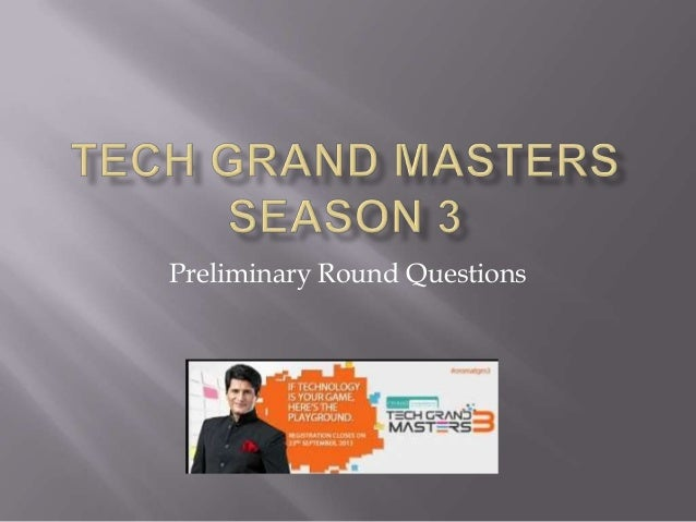 Preliminary Round Questions