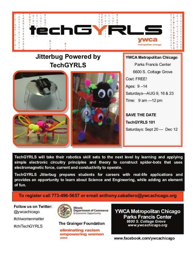 TechGYRLS will take their robotics skill sets to the next level by learning and applying simple electronic circuitry princ...