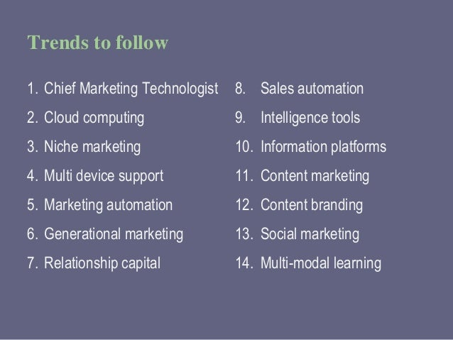 The Technology Horizon: Essential Technologies for Legal Marketers Slide 3