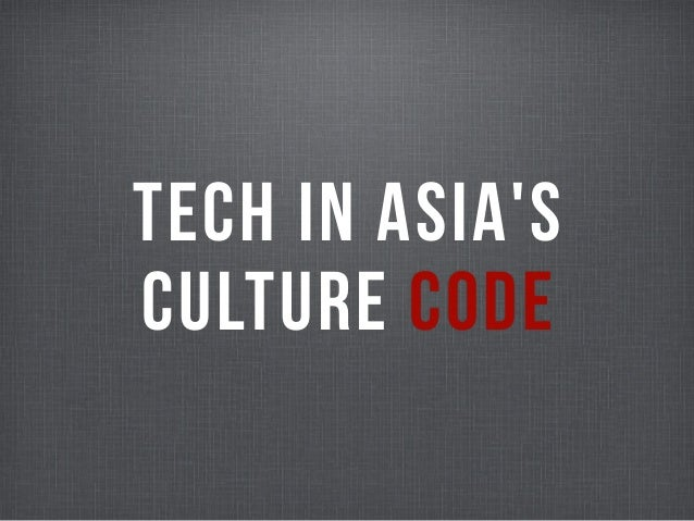 TECH IN ASIASCULTURE CODE