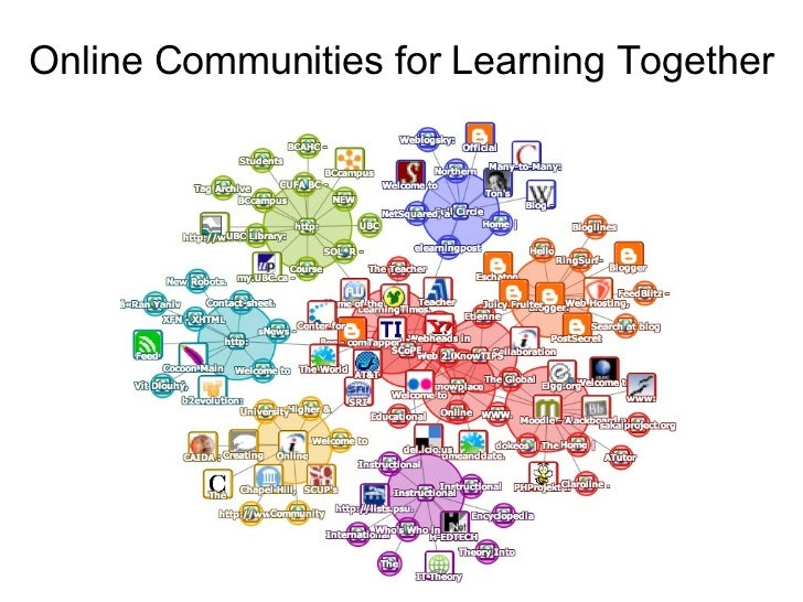 Online Communities for Learning Together