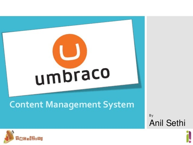 Content Management SystemByAnil Sethi