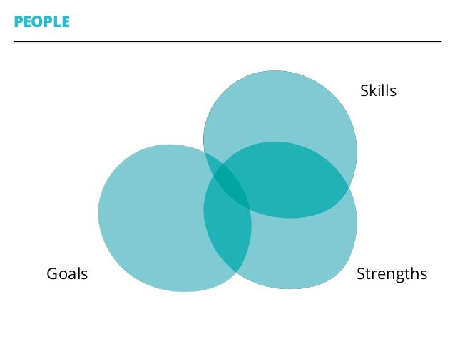 PEOPLE 43 Skills StrengthsGoals Interests Sweet Spot
